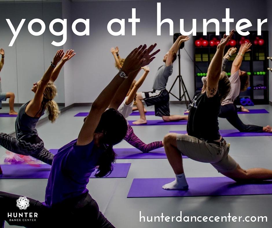 yoga at hunter